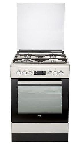 מודרניסטית תנור משולב כיריים Beko FSM61330DXDSL בקו | תנורי אפייה | למטבח IG-81